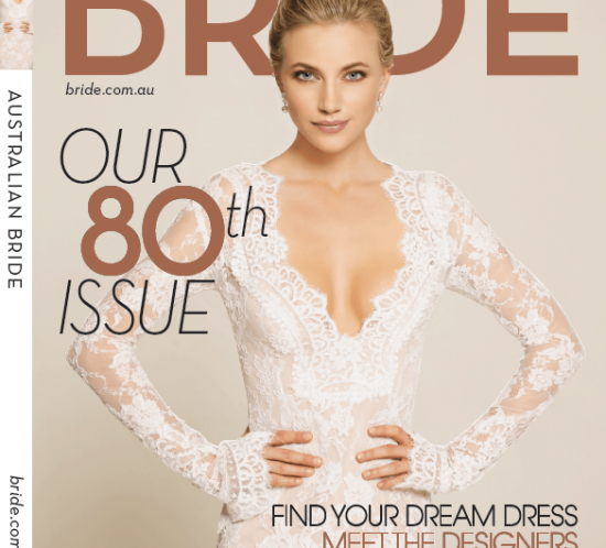 Bride Magazine 80th Issue Cover